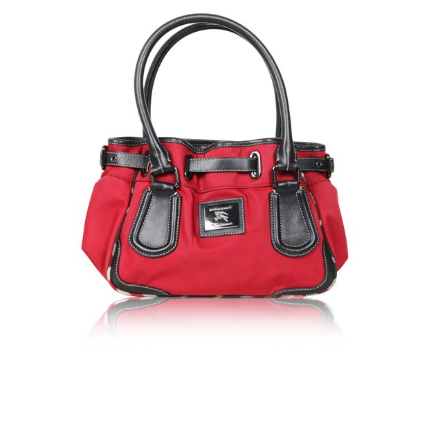 00c7227ee54 Blue Label Red bag by BURBERRY BLUE LABEL   StyleTribute.com