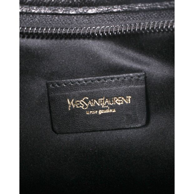 YVES SAINT LAURENT Monogramme Fringed Suede Mini Handbag 4 thumbnail bef9def92a