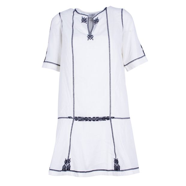 9f956b84194 ISABEL MARANT ETOILE Relly Embroidered Dress 0 thumbnail