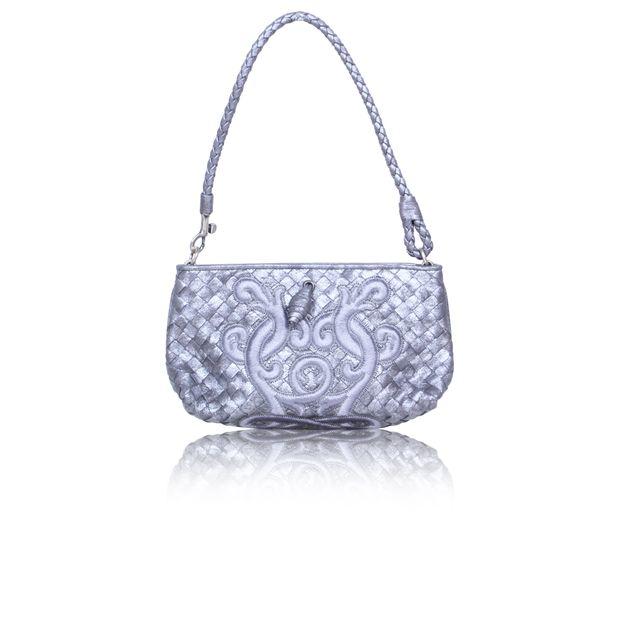 Small Embroidered Shoulder Bag by BOTTEGA VENETA  fd0dc89724c88