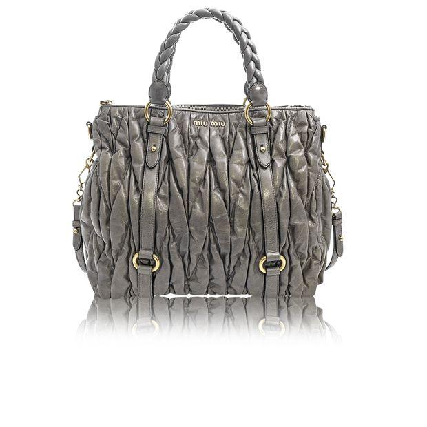 0c2613b4323a Matelasse Top Handle Bag by MIU MIU