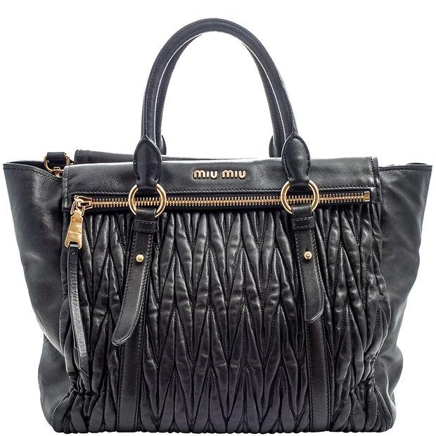 Matalasse Top Handle Bag by MIU MIU   StyleTribute.com 3b5234a3c4