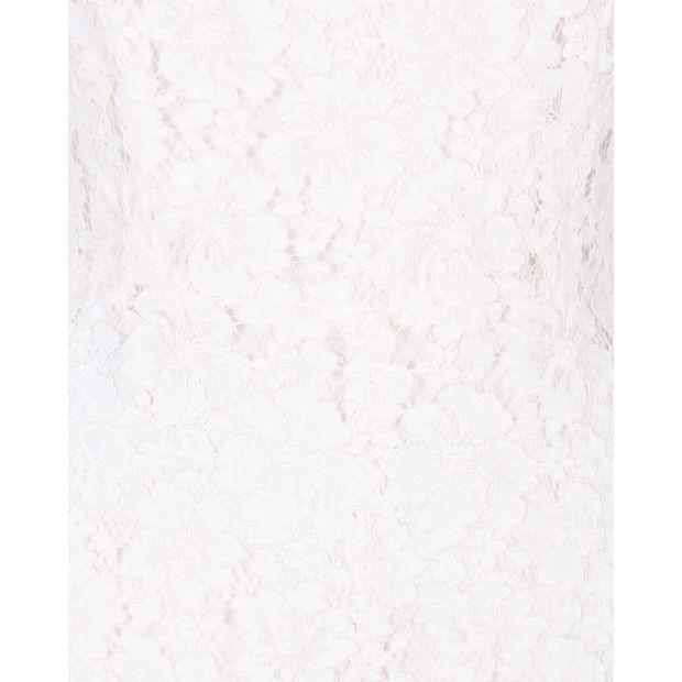c93c5c194ed SANDRO White Lace Jumpsuit with Bateau Neck 4 thumbnail