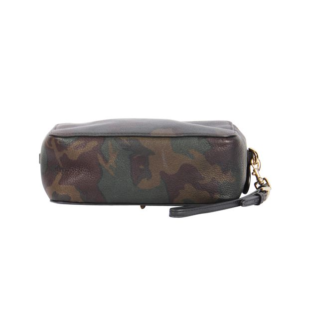 5bf651baf93 MULBERRY Mulberry + Cara Delevingne Camouflage Pouch 2 thumbnail
