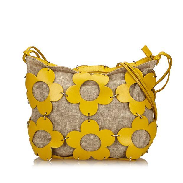 Floral Shoulder Bag by CÉLINE  16b1c9b1be7b4