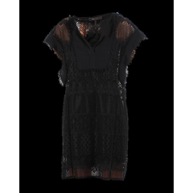 e27f9c91ce3 BCBGMAXAZRIA Black Laces Dress 0 thumbnail