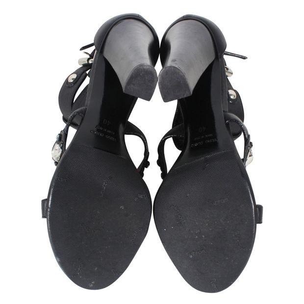 133154da99b6e Black T-strap Heels by GIUSEPPE ZANOTTI | StyleTribute.com
