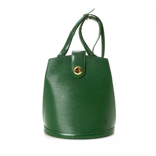 Green Epi Leather Cluny Bag by LOUIS VUITTON  80ca225d029bf