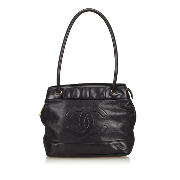 Lambskin Leather Shoulder Bag by CHANEL   StyleTribute.com f09d227c8c