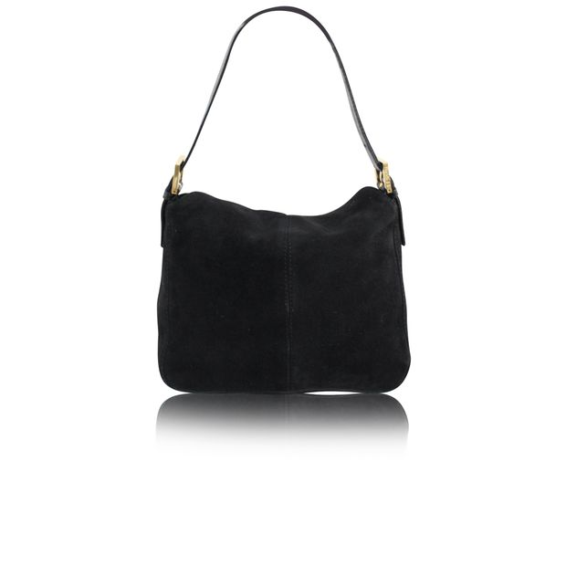 FENDI Suede Small Tote 2 thumbnail f53a8743379ce