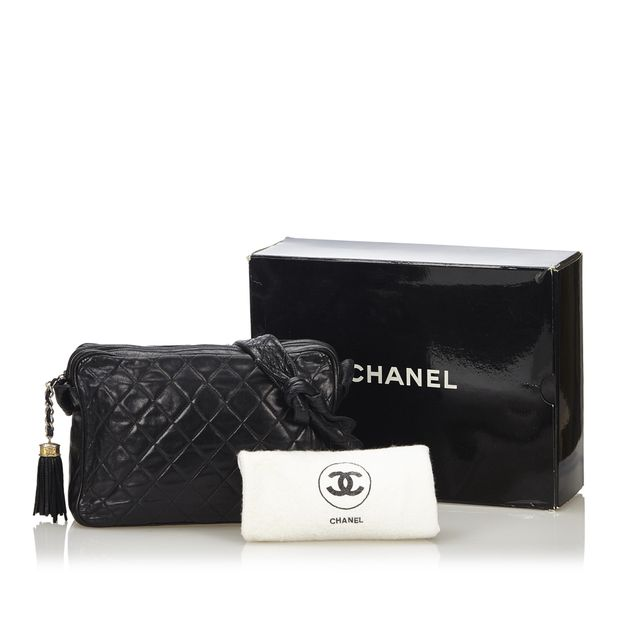 Matelasse Lambskin Shoulder Bag by CHANEL   StyleTribute.com 7478d25609
