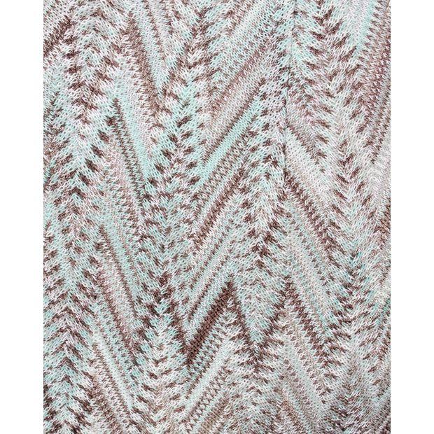 MISSONI Blue Melange Skirt 4 Thumbnail