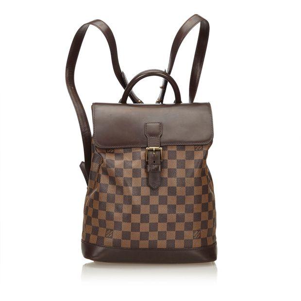 Damier Ebene Soho Backpack by LOUIS VUITTON  6660ac44813e3