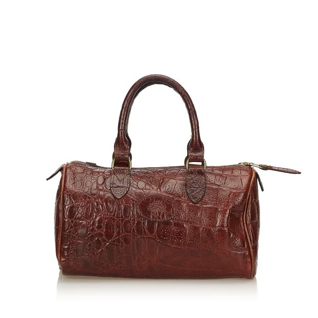 Embossed Leather Handbag by MULBERRY   StyleTribute.com 9f2a120451