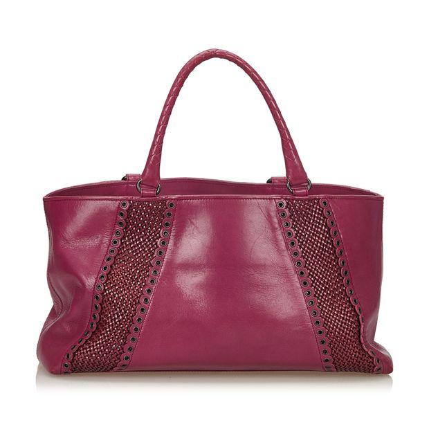 f1541e1bef Rugiada Leather Tote Bag by BOTTEGA VENETA