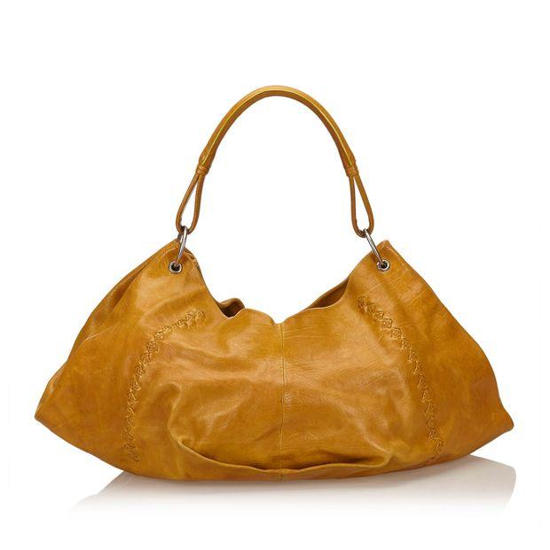 c1f1b94956 Leather Hobo Bag by BOTTEGA VENETA