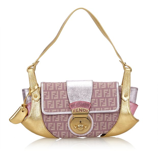 0df998baf835 Zucchino Compilation Handbag by FENDI