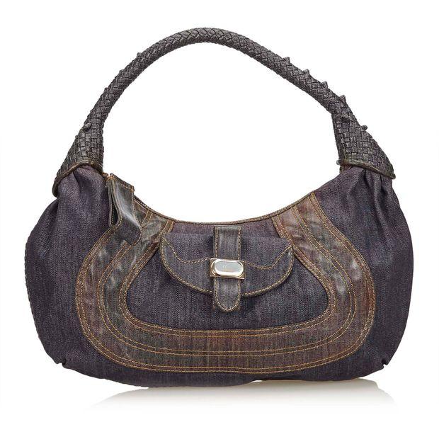b41c45850384 Denim Spy Handbag by FENDI