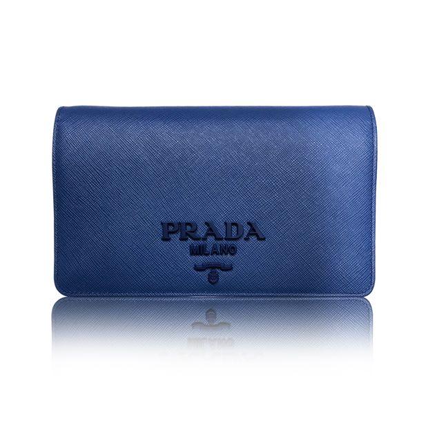 Prada Saffiano Lux Wallet On Chain Woc Sling Bag Clutch Purse 0 Thumbnail