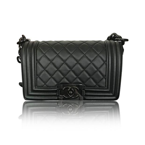 484effcf66a2 Boy Bag In So Black (Limited Edition) by CHANEL