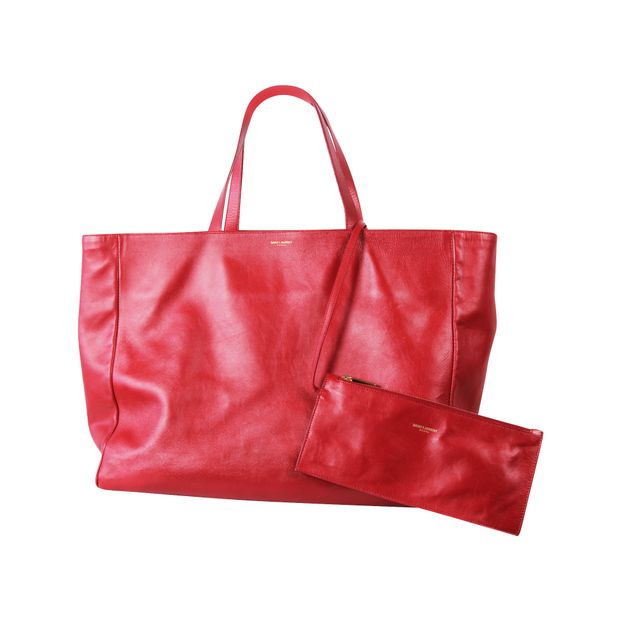 SAINT LAURENT Reversible Shopper Tote 4 thumbnail 89273042b92db