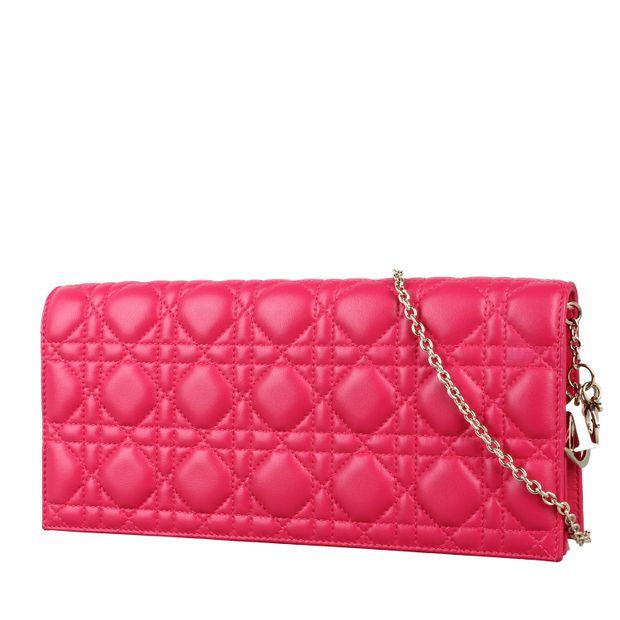 83dfb711c4ca DIOR Lady Dior Lambskin Clutch Bag 1 thumbnail