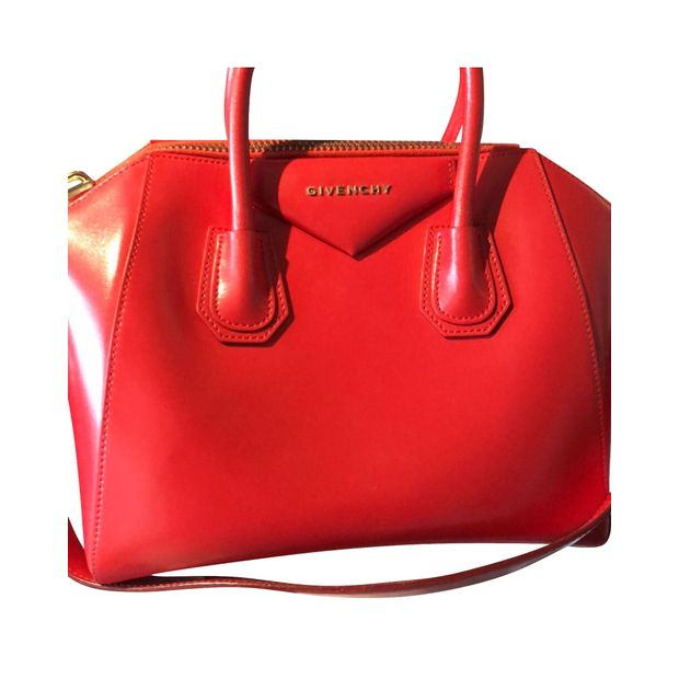1ee1feee11 Medium Antigona In Red by GIVENCHY