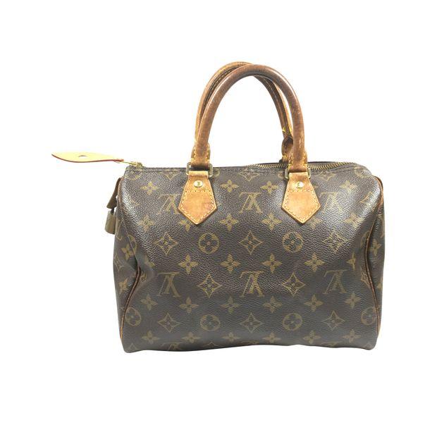 Monogram Speedy 25 Handbag by LOUIS VUITTON   StyleTribute.com 5a7495373c