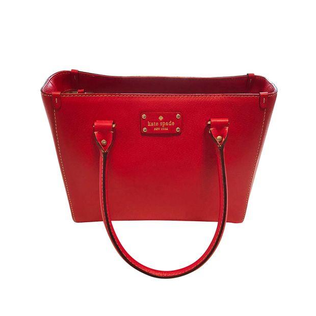 Kate Spade Red Tote Bag 0 Thumbnail