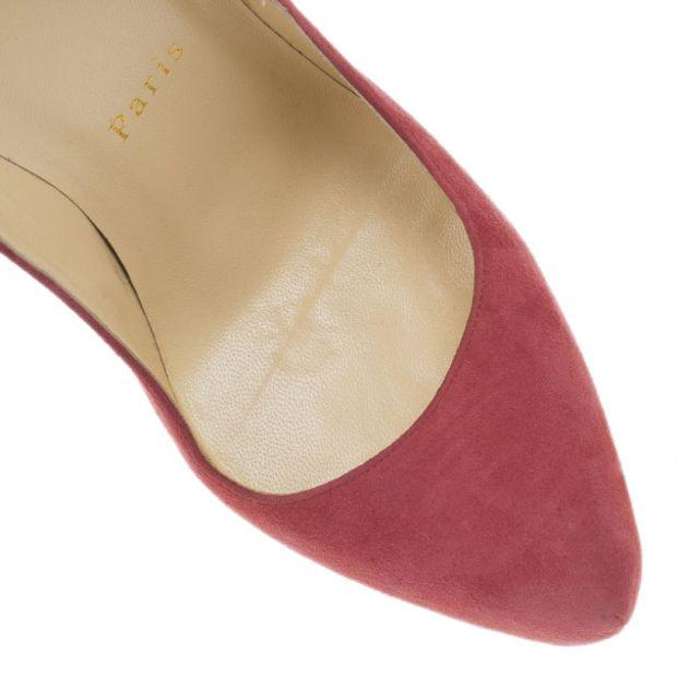 a8b5e6696 CHRISTIAN LOUBOUTIN Christian Louboutin Pink Suede Daffodile Platform Pumps  Size 38 5 thumbnail