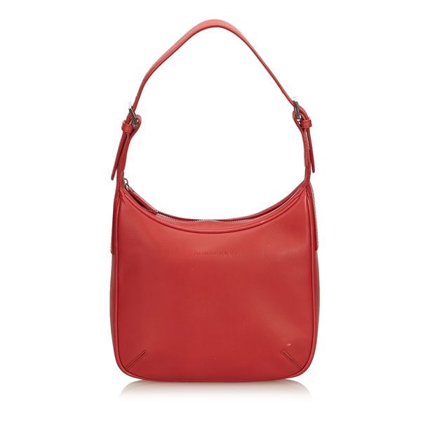 5668eda789df Leather Hobo by BURBERRY