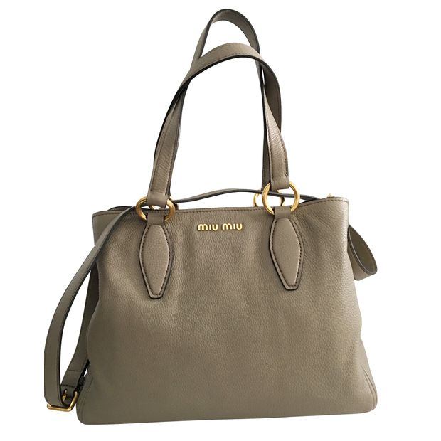 cbcef43e274 Two-Way Handbag by MIU MIU   StyleTribute.com