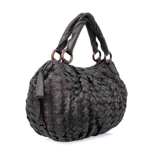 MIU MIU Woven Handle Bag 3 thumbnail 3264463a27a39