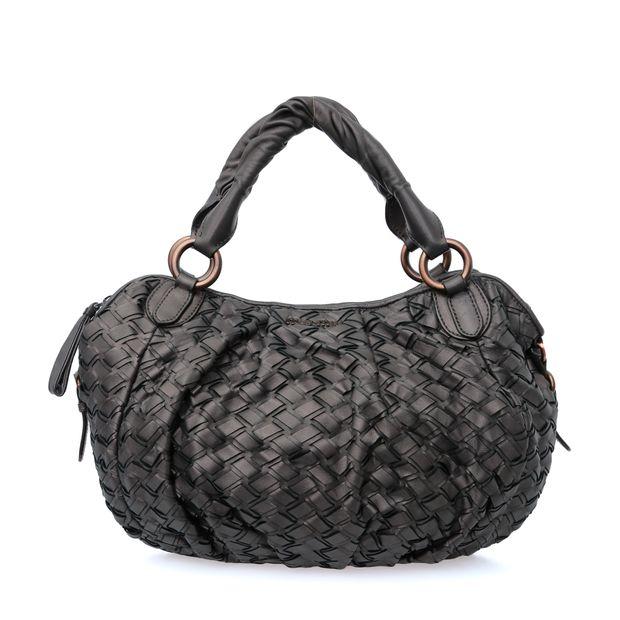 Woven Handle Bag by MIU MIU  67b23075c27a0