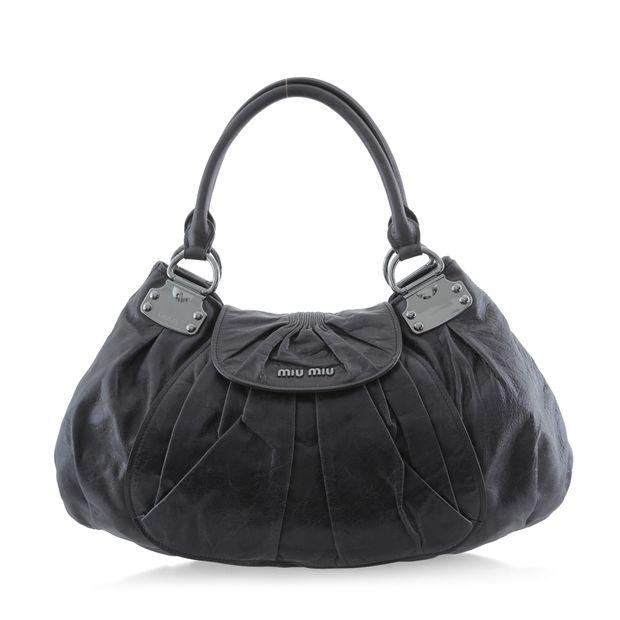 Nappa Antik Shoulder Bag by MIU MIU  ade4ebc497627