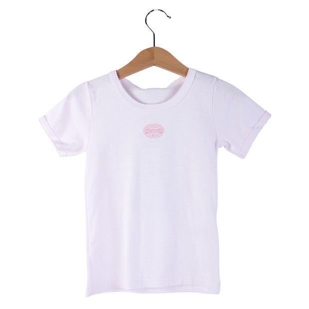 Pastel Pink Stripes Bodie Top by PETIT BATEAU  cc893115f6b