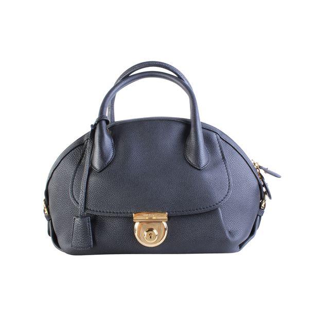 Black Fiamma Bag by SALVATORE FERRAGAMO   StyleTribute.com 46a81db398