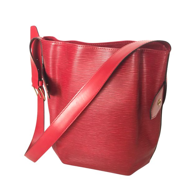 a9d4199d61fc LOUIS VUITTON Petit Noe Red Epi Leather Shoulder Bag 0 thumbnail