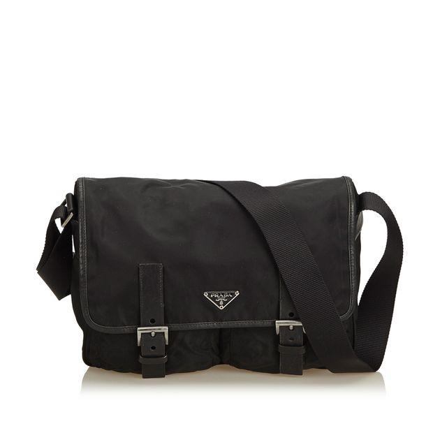 f659c31b15c0b ... hot prada tessuto nylon messenger bag 7c411 47cb4 authentic ...