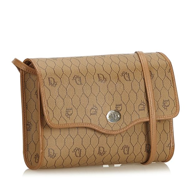 Honeycomb Coated Canvas Crossbody Bag by DIOR   StyleTribute.com 7b37ee872c