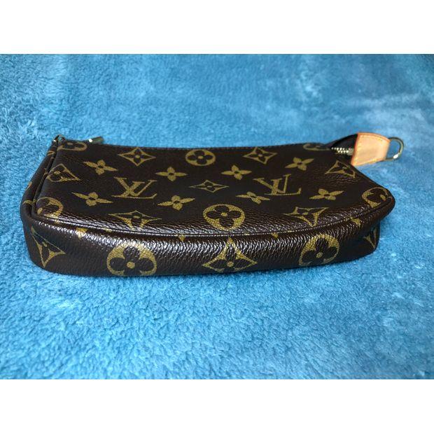 a2d5402aab0 LOUIS VUITTON Monogram Canvas Petit Bucket Bag with Accessory Pouch ...