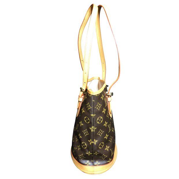 1514243b324 LOUIS VUITTON Monogram Canvas Petit Bucket Bag with Accessory Pouch 2  thumbnail