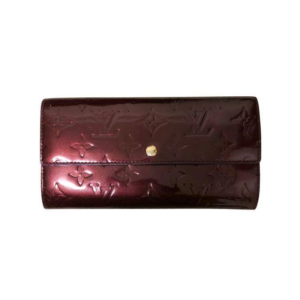 8cef80ac0086 Amarante Patent Leather Wallet by LOUIS VUITTON