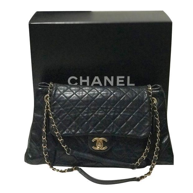ead0da2f5b62 Chanel Sac Accordeon flap Bag by CHANEL   StyleTribute.com