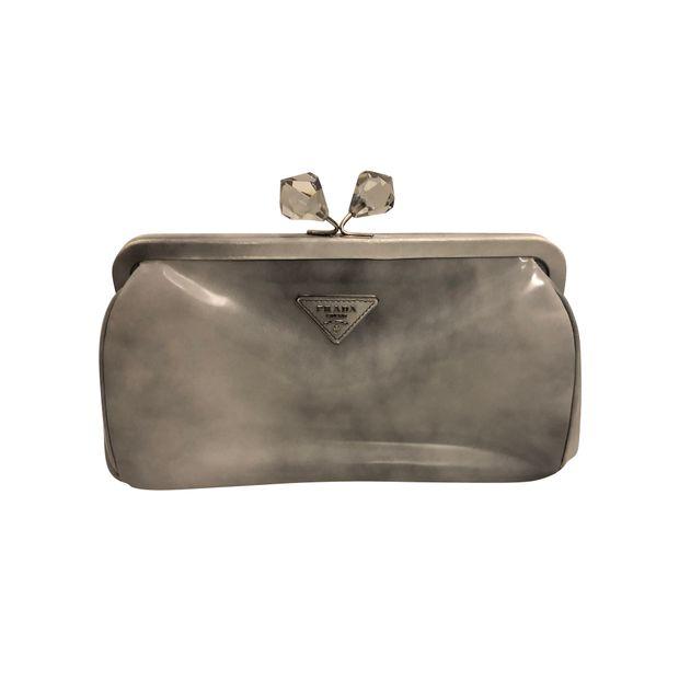 2494a5d24ecd Prada clutch bag by PRADA   StyleTribute.com