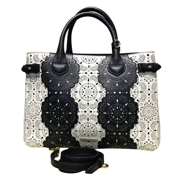 afee689e547d Medium Banner in Lace Leather by BURBERRY