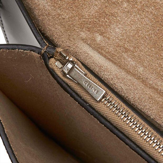 CÉLINE Leather Diamond Clutch Bag 15 thumbnail 387adbd6d42c5