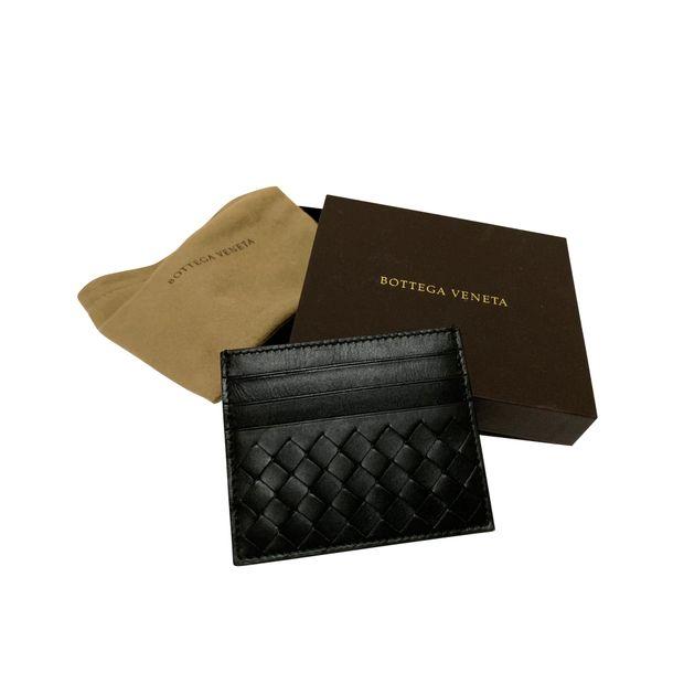 ed70a48b07 Bottega Intrecciato Napoli Card Case (New Un-used) by BOTTEGA VENETA ...