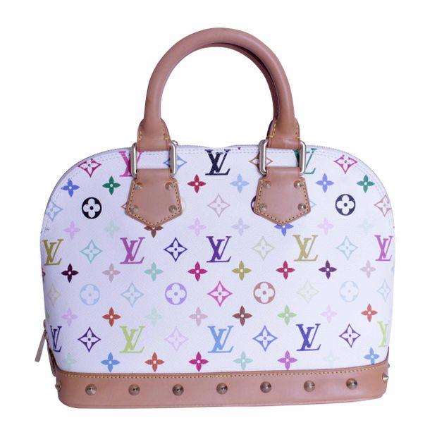 Louis Vuitton Classic Monogrammed Bag White