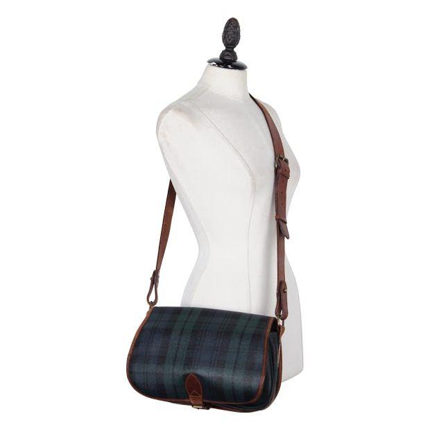 24ff9320eff4 POLO RALPH LAUREN Polo Ralph Lauren Plaid Saddle Bag 1 thumbnail